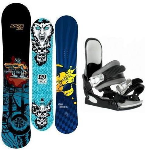 Dětský snowboard set foto môže byť len ilustračné